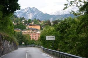 Ortseingang Levico Terme