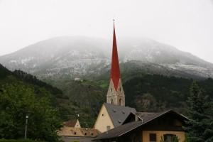 Schlanders und Schnee im Mai