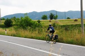 Von Brescia hinauf ins Ledrotal - keine großen Berge mehr, aber doch noch ein wenig Kletterei ...