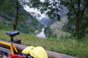 Hinunter km-lang durchs Tal der Tinée