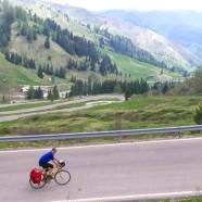 Auf dem Dach der Tour – dem Passo Pordoi mit 2239 m
