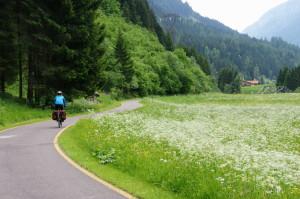 Radweg im Trentino