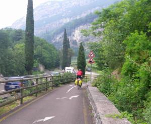 Radweg Gardasee