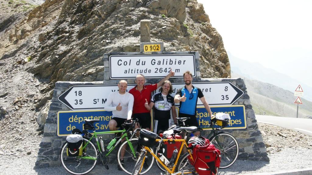 """Im Michelin Reiseführer steht zum Col du Galibier: """"Ein Reise wert"""" ... das können wir nur bestätigen! Grandios!"""