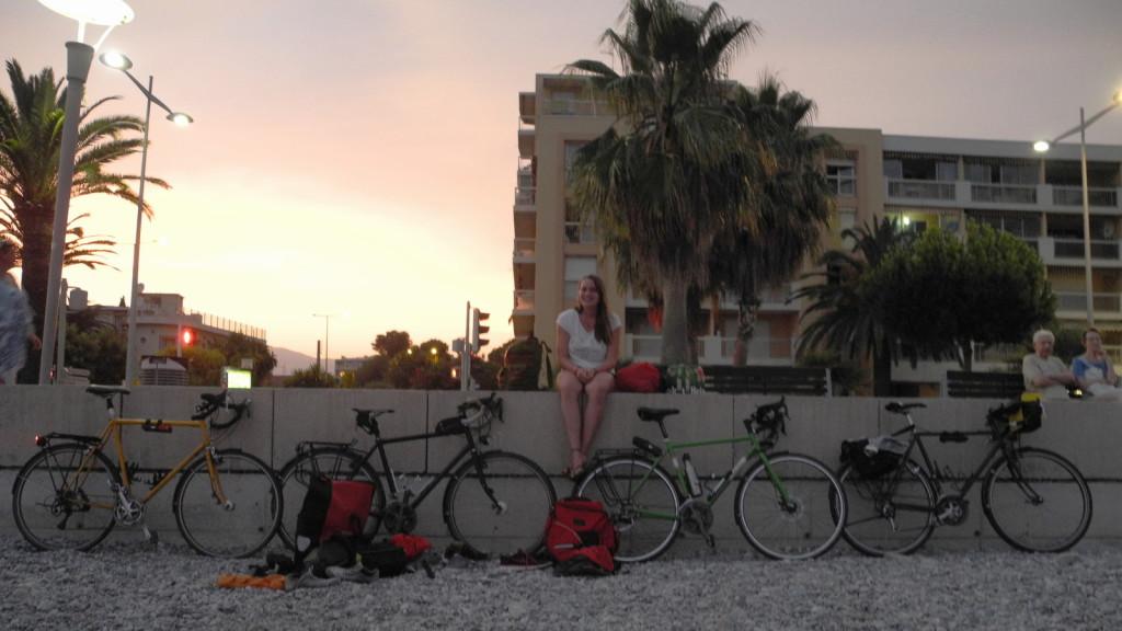 Angekommen an der Côte d'Azur