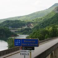 Wunderbare Strecken durch das Département Drôme