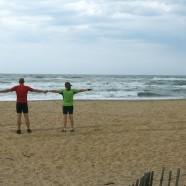 Immer am Meer entlang – 14 km langer Sandstrand!