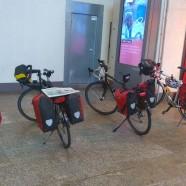 Die Räder auf der Tour