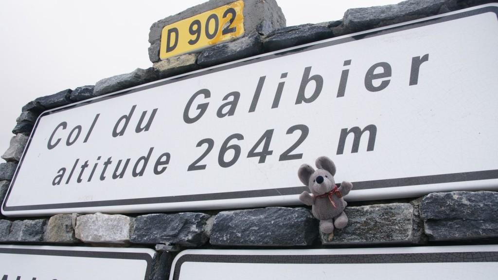Paßschild Col du Galibier