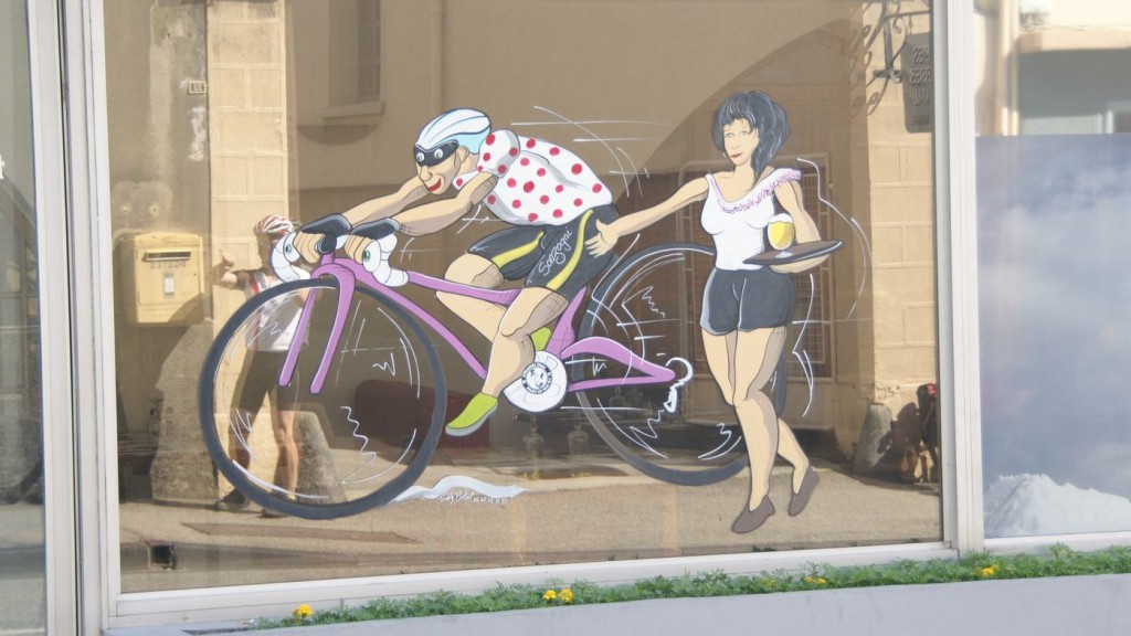 Radsportbild in St.-Jean-de_Maurienne