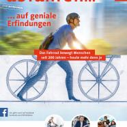 """Die 1. Ausgabe 2017 unseres Verbandsmagazins """"VSF..abfahren"""" ist da"""