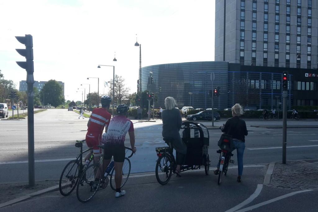 Alle möglichen Fahrradgattungen sind in Kopenhagen anzutreffen, auch Lastenräder werden deutlich mehr als anderswo eingesetzt.