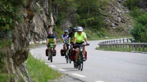 Auf dem Weg von Jausiers nach Nizza durch das Tinée-Tal