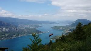 Lac d'Annecy - Blick vom Col de la Forclaz