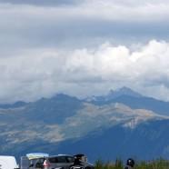 Der erste große Berg auf Etappe Nr. 3