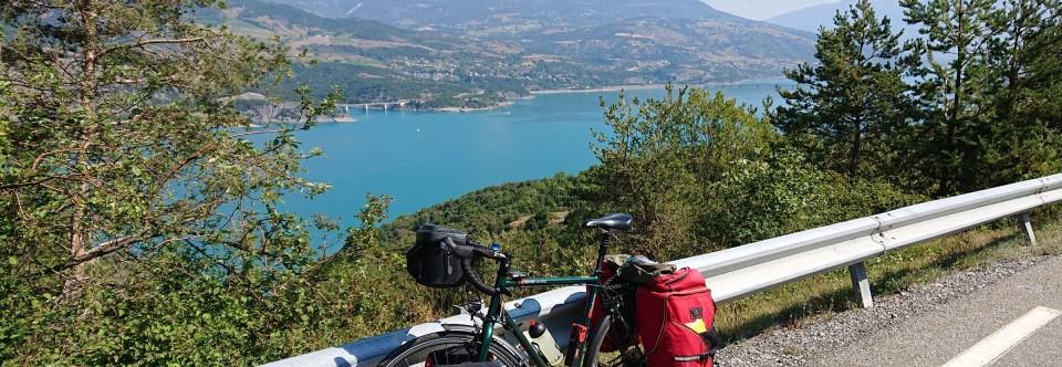 Ruhetag am Lac-de-Serre-Poncon