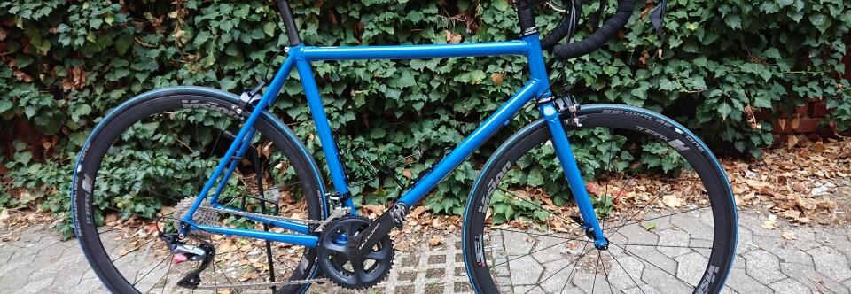 Steel is real – Dieses Mal ein Rennrad !